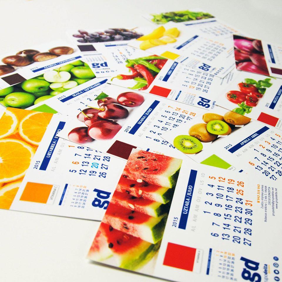 Calendarios, Grupo Delta Global Partner