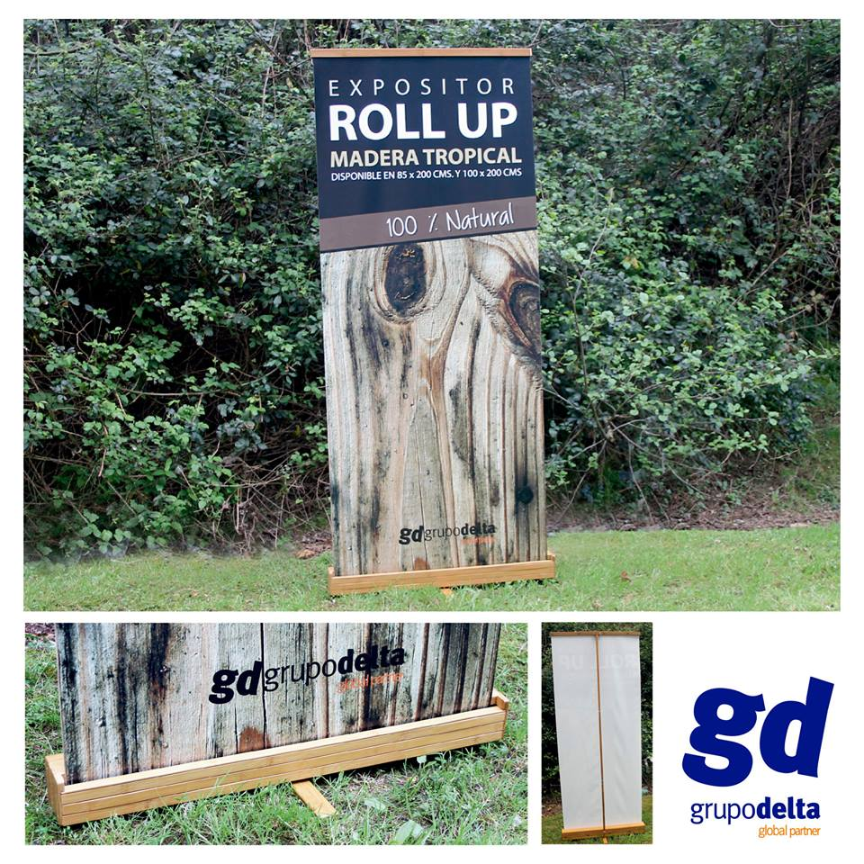 Rollup madera, Grupo Delta Global Partner, Grupo Delta Global Partner