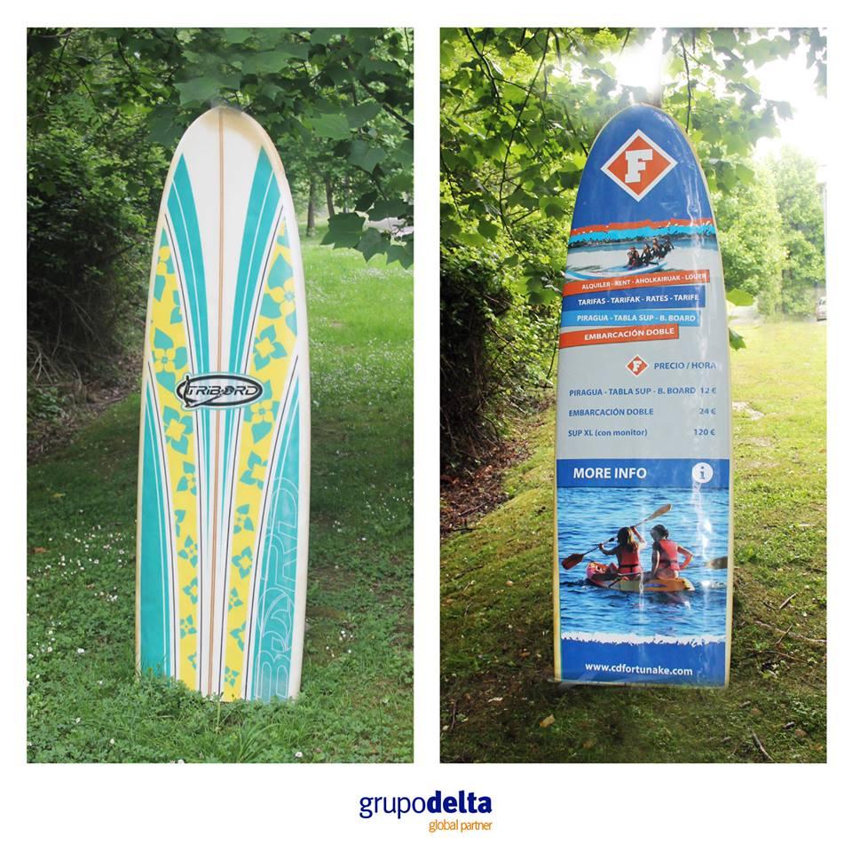 Vinilo - personalización tabla surf, Grupo Delta Global Partner