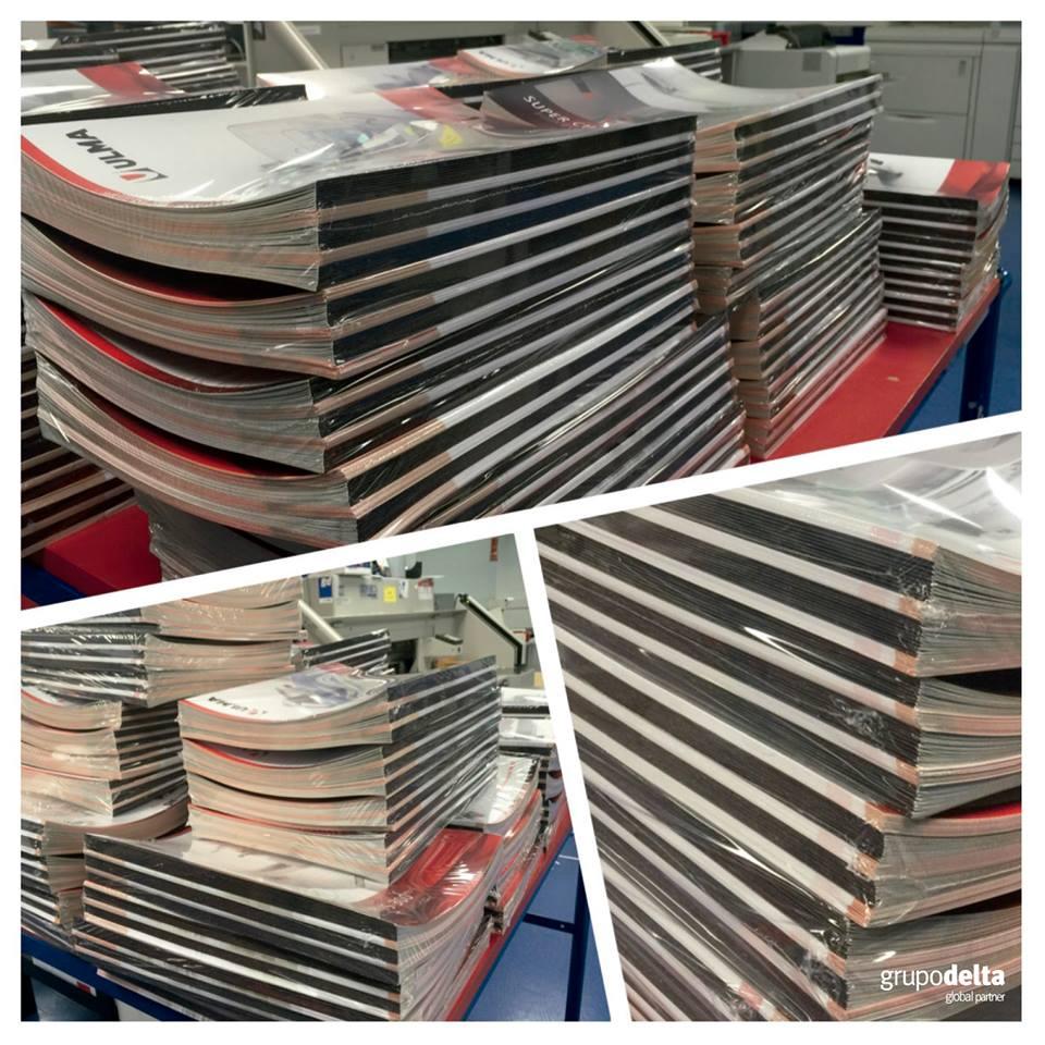 Impresión revistas manuales, Grupo Delta Global Partner
