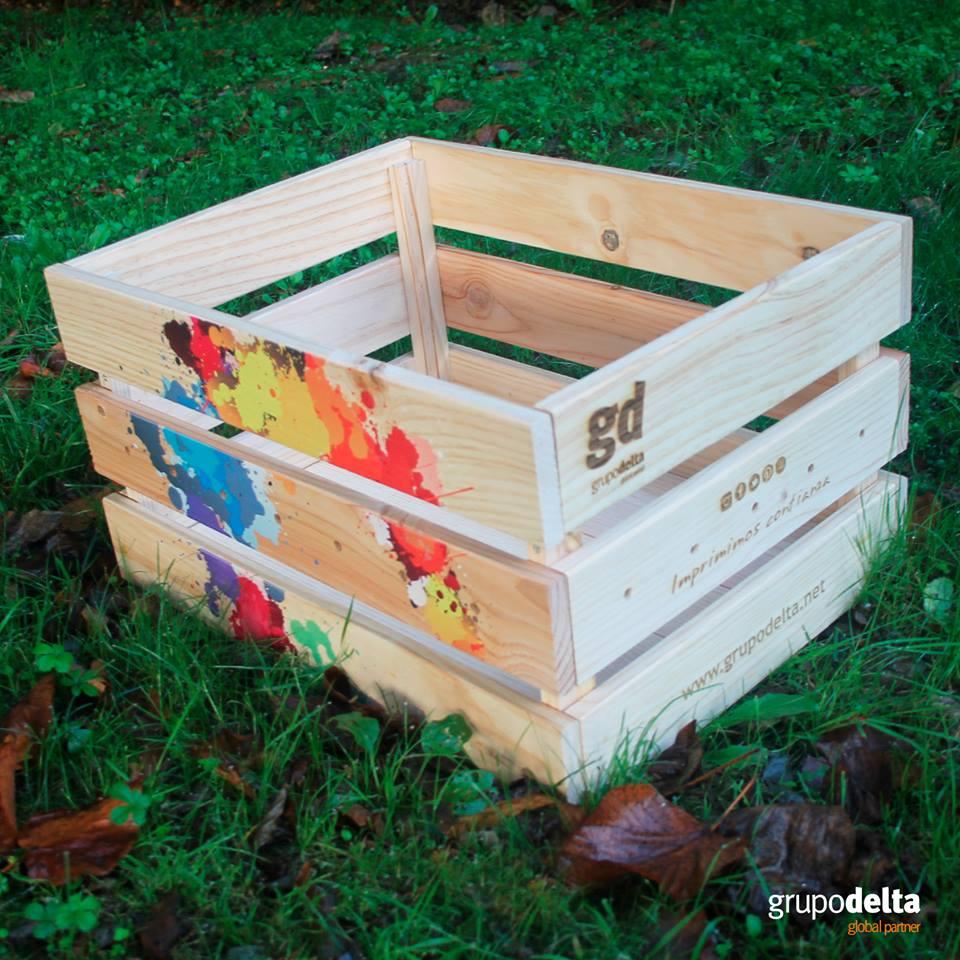 Impresión en madera, Grupo Delta Global Partner