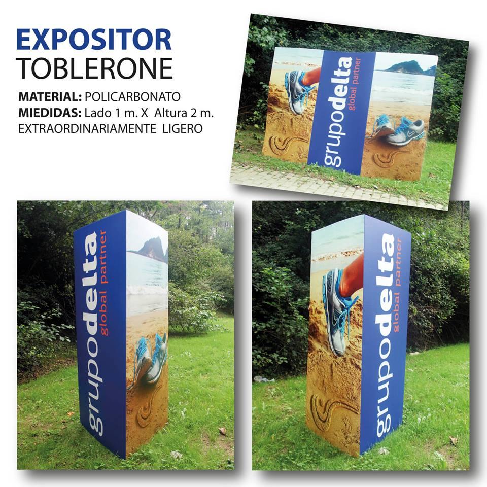 Expositor toblerone, Grupo Delta Global Partner