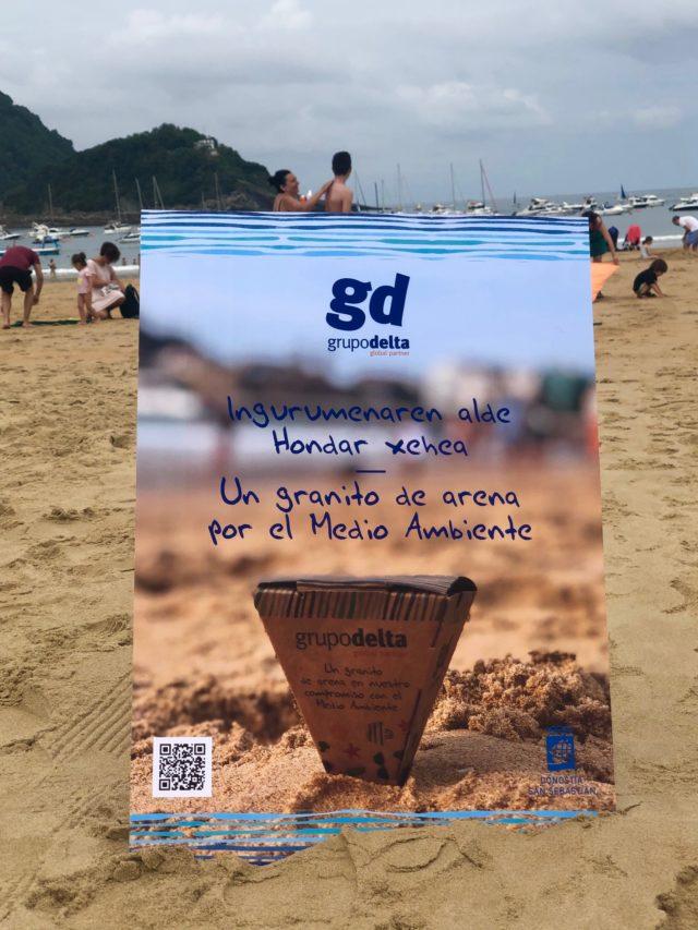 Un granito de arena en nuestro compromiso con el Medio Ambiente - Grupo Delta