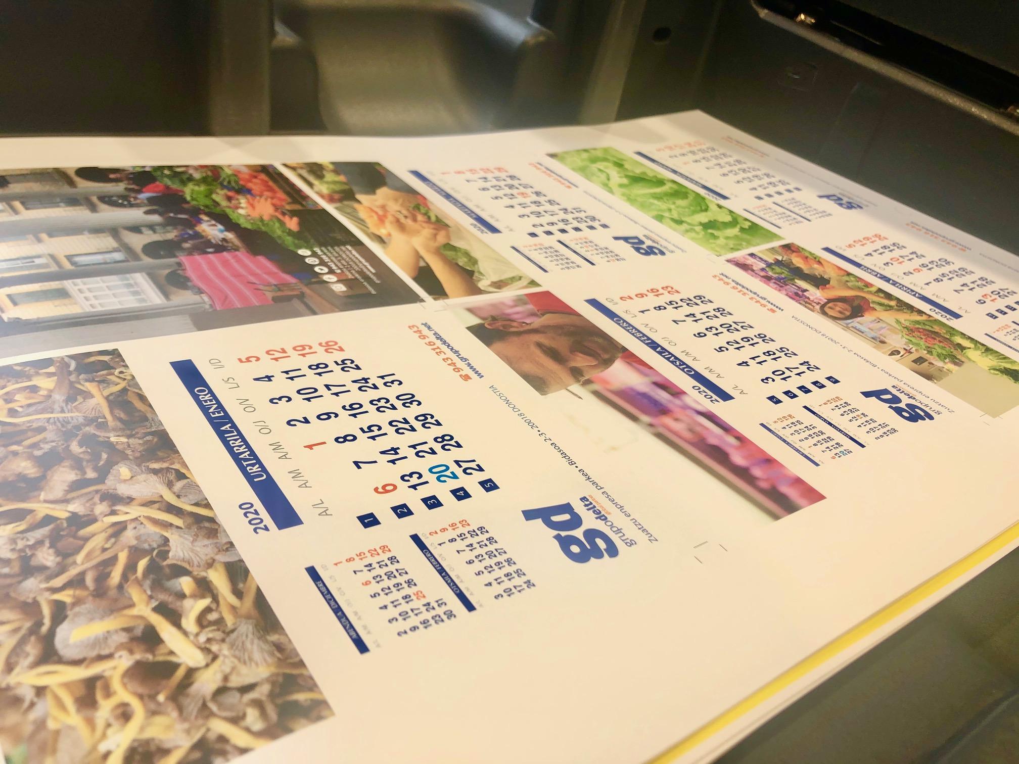 Calendario 2020 Grupo Delta