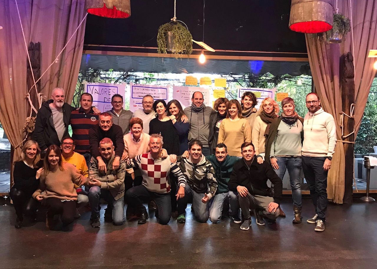 Jornada de formación, Grupo Delta Global Partner