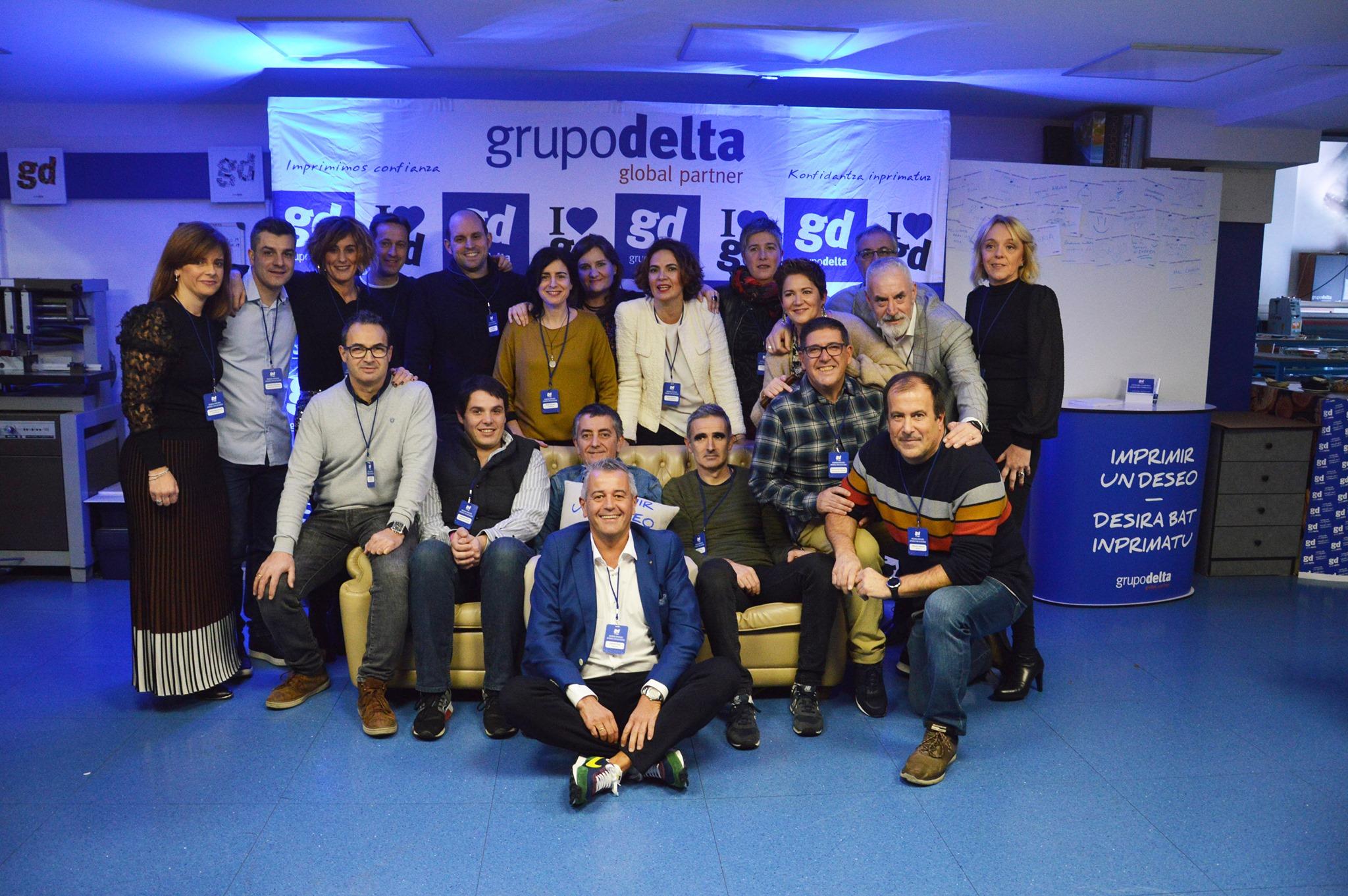 Brindando impresiones 2019, Grupo Delta Global Partner