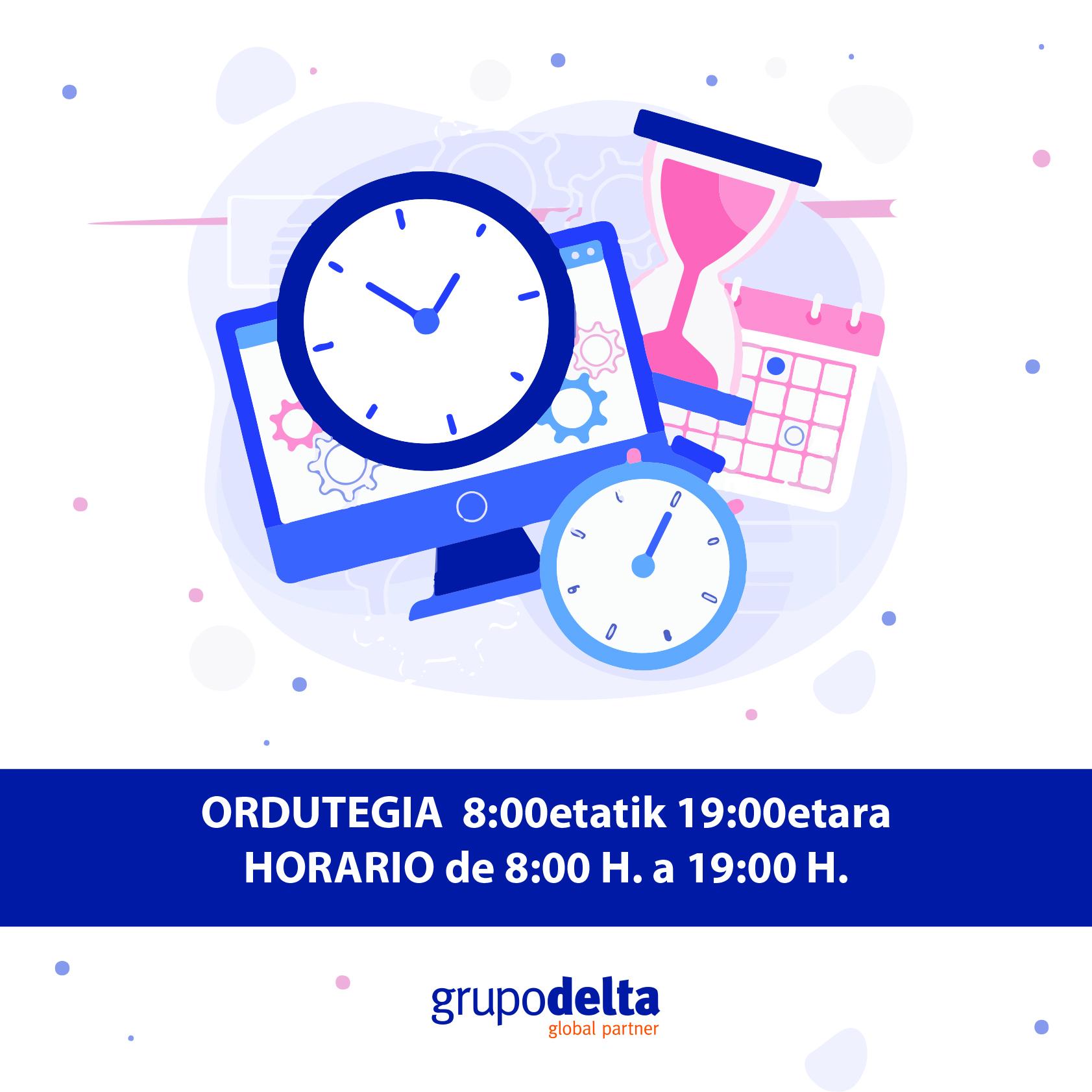 Nuevo horario, Grupo Delta