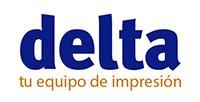 Delta, tu equipo de impresión. Logo